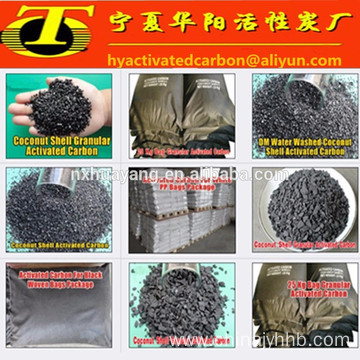 MSDS Anthracite coal granular activated carbon filter media