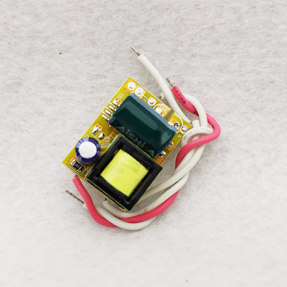 2/10pcs LED Driver 300mA 280mA 3W 4W 5W For LEDs Power Supply Unit AC90-265V Lighting Transformers For LED Power Lights DIY