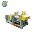 Emergency Stop Rubber Mill na may Stock Blender