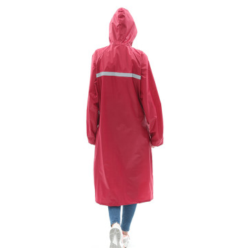 Long Double fabric Cloak raincoat