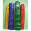 orange plastic barrier net