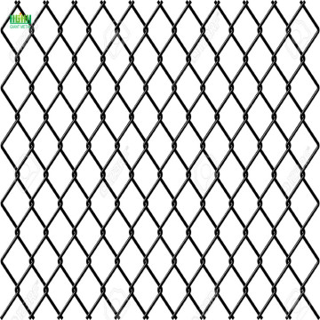 Diamond hole size chain link fence