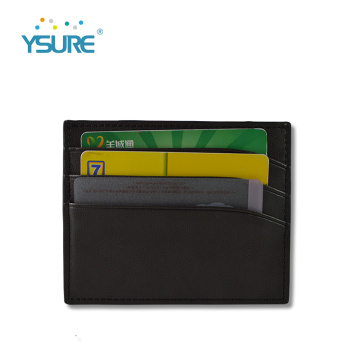 Custom Logo Leather Business Name Card Holder