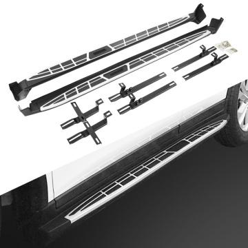 Pair Running Board Side Step for Nissan Qashqai 2014-2018 Nerf Bar Platform Iboard