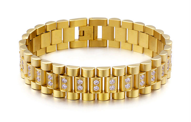 gold chain bracelet mens