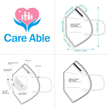 Careable CE2163 Filtration Respiratiors Protective Mask