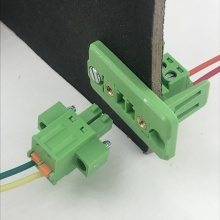 2-24P 3.81 pitch through wall terminal block connector