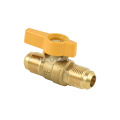 Brass or lead free brass Flare x Flare Gas Ball Valve