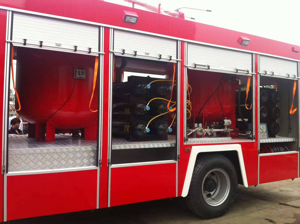 Powder fire truck details 2