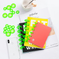 35mm 20PCS mushroom hole hand book binding buckle color disk buckle notebook binding ring loose-leaf button binding supplies