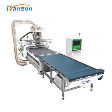 TSW1325 ATC CNC Router with unloading system