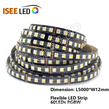 RGBW LED Flexible Strip 60 Leds per Meter