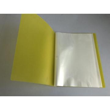 Presentation efficient filing folders display book