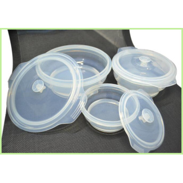 New Premium Silicone Collapsible Lunch Box Set