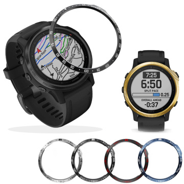 Bezel Ring Styling Frame Case For Garmin Fenix 6S 6SPro/6S Sapphire Smart Watch Stainless Steel Cover Protection Anti-scratch