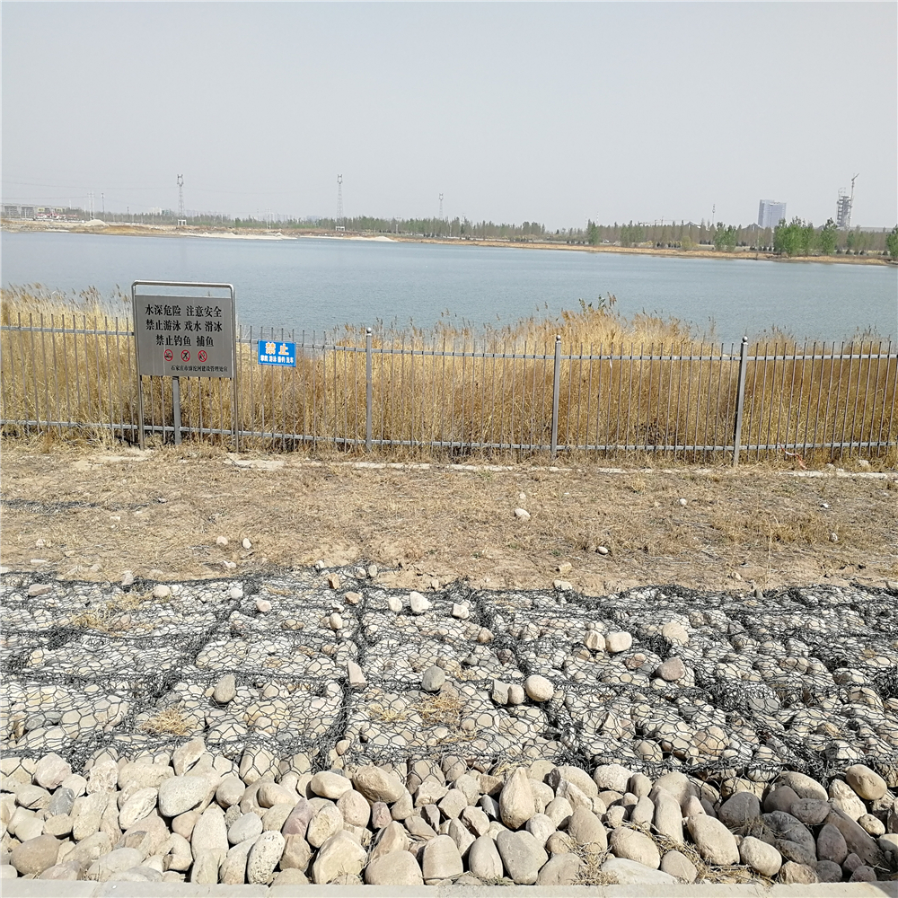 High security galvanized wire mesh gabion For Retaining Gabion Wall