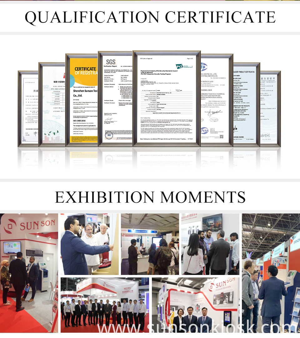 certification & exhibition