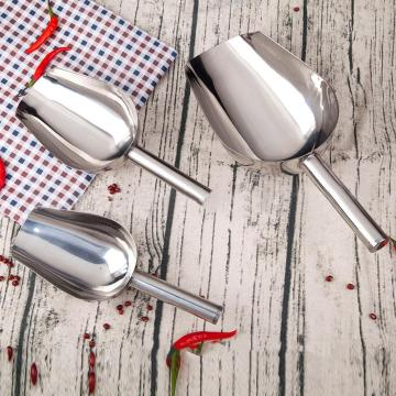 Multi-purpose Shovel Grain Food Shovel High Quality Stainless Steel Durable Ice Cream Sweets Buffet Candy Shovels Kitchen Tools