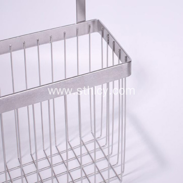 304 Stainless Steel Cupboard Door Storage Basket