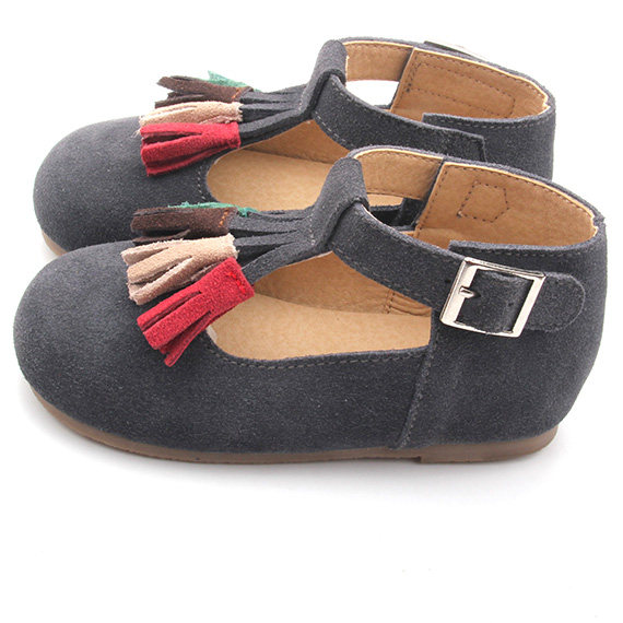 Rubber Sole Children Shoes