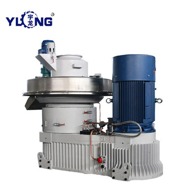 YULONG XGJ560 mixed wood pellet making machine