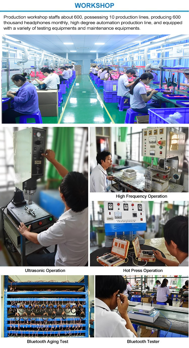 headphone workshop and production lines