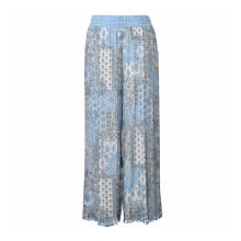 Boho Floral Baggy Long Trousers Pants