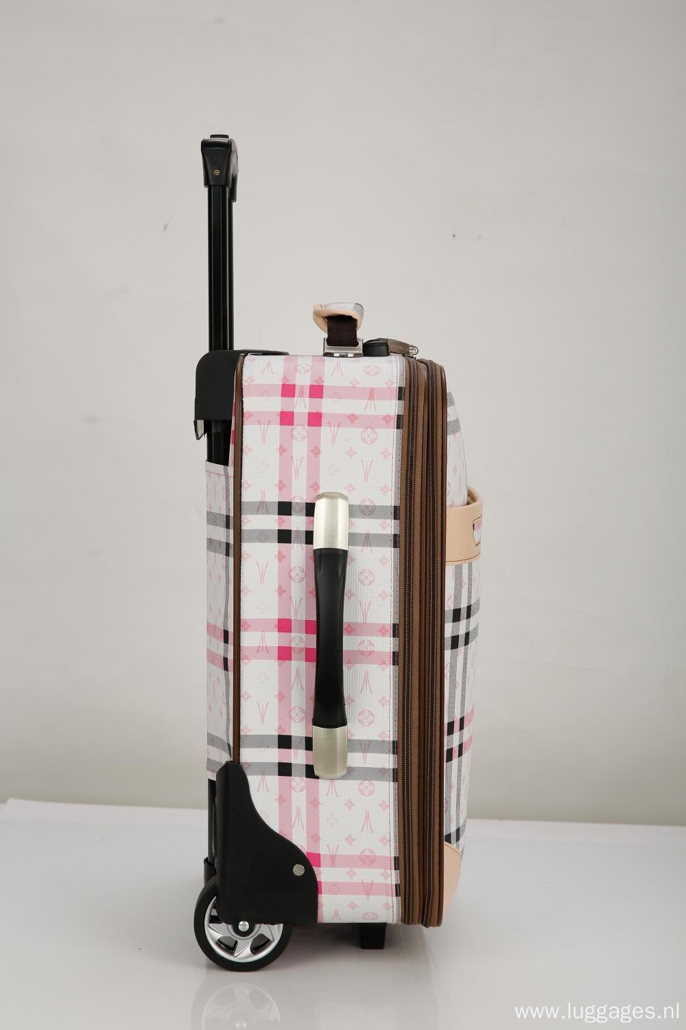 EVA Expandable Rollaboard Suitcase