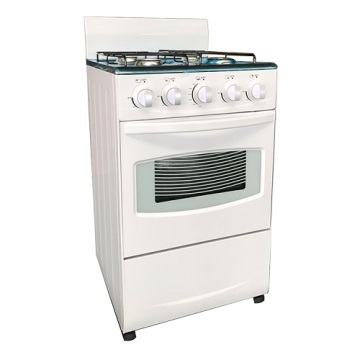50x50cm Kitchen 4-Burner Standing Gas Cooker With Oven