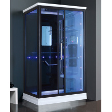 Tempered Glass Steam Shower Room with Massage