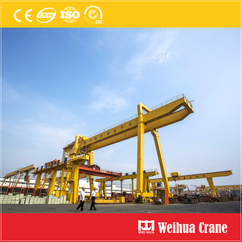 Gantry Crane At Weihua Factory