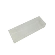Display folding acetate PVC clear soap box
