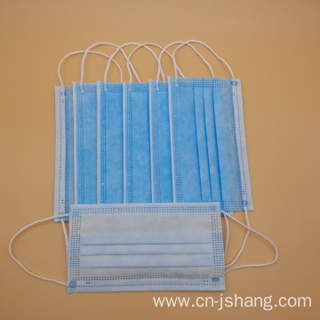 Disposable Non-Woven Surgical Face Mask for Hospital