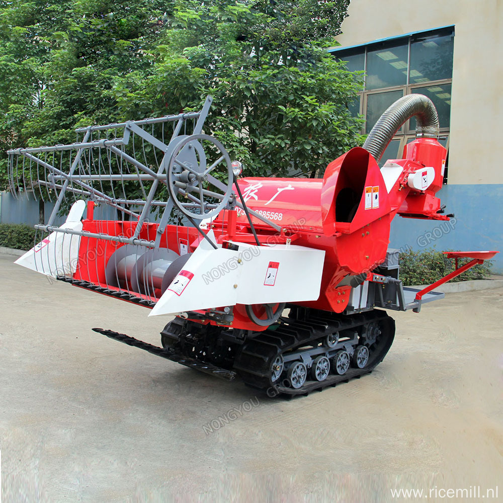 Wheat Cutter mini rice combine harvester