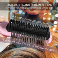 Simply straight ceramic hair straightening brush