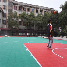Functional Colorful Modular Interlocking Sports Court Floor