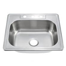 number of hole top mount kitchen sink