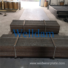 8+6 Chromium Carbide Overlay Wear Resistant Steel Clad Liner
