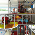 Large Commercial indoor playground structures for kids