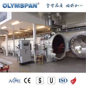 ASME standard composite bonding autoclave
