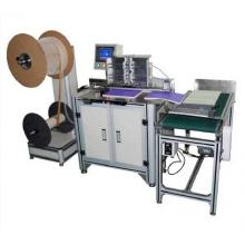 Semi-automatic double wire loop spiral binding machine