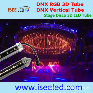 Disco 3D RGB LED Tube Addressable Stage Light