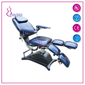 Adjustable hydraulic beauty bed