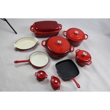 15pcs Complete Cook And Bakeware Sets