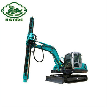 Drilling Machine For Ground Screw Piles