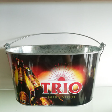 10QT Ice bucket with two bottle opener