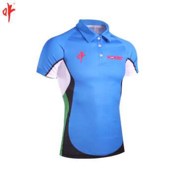China Manufacture Custom Made Sublimation polo shirt, customized kits