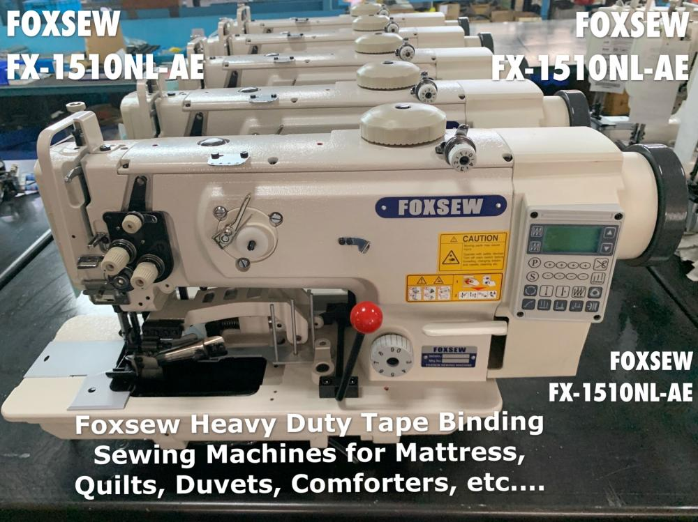 Heavy Duty Tape Binding Sewing Machines 1