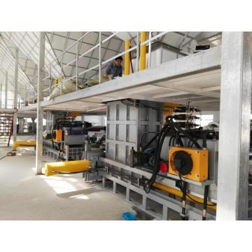 Corn bone baler machine