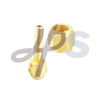 Brass 90 degree female corrugated connector